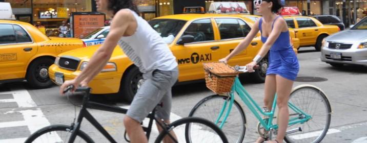 5 famosos amantes da bicicleta