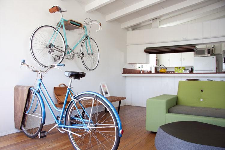 Suportes de bicicleta: 5 formas originais de guardar a sua em casa