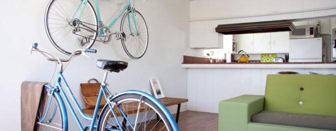 Suportes de bicicletas: 5 formas originais de guardar a sua em casa