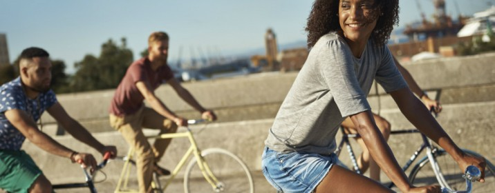 Andar de bicicleta pela primeira vez é sempre inesquecível