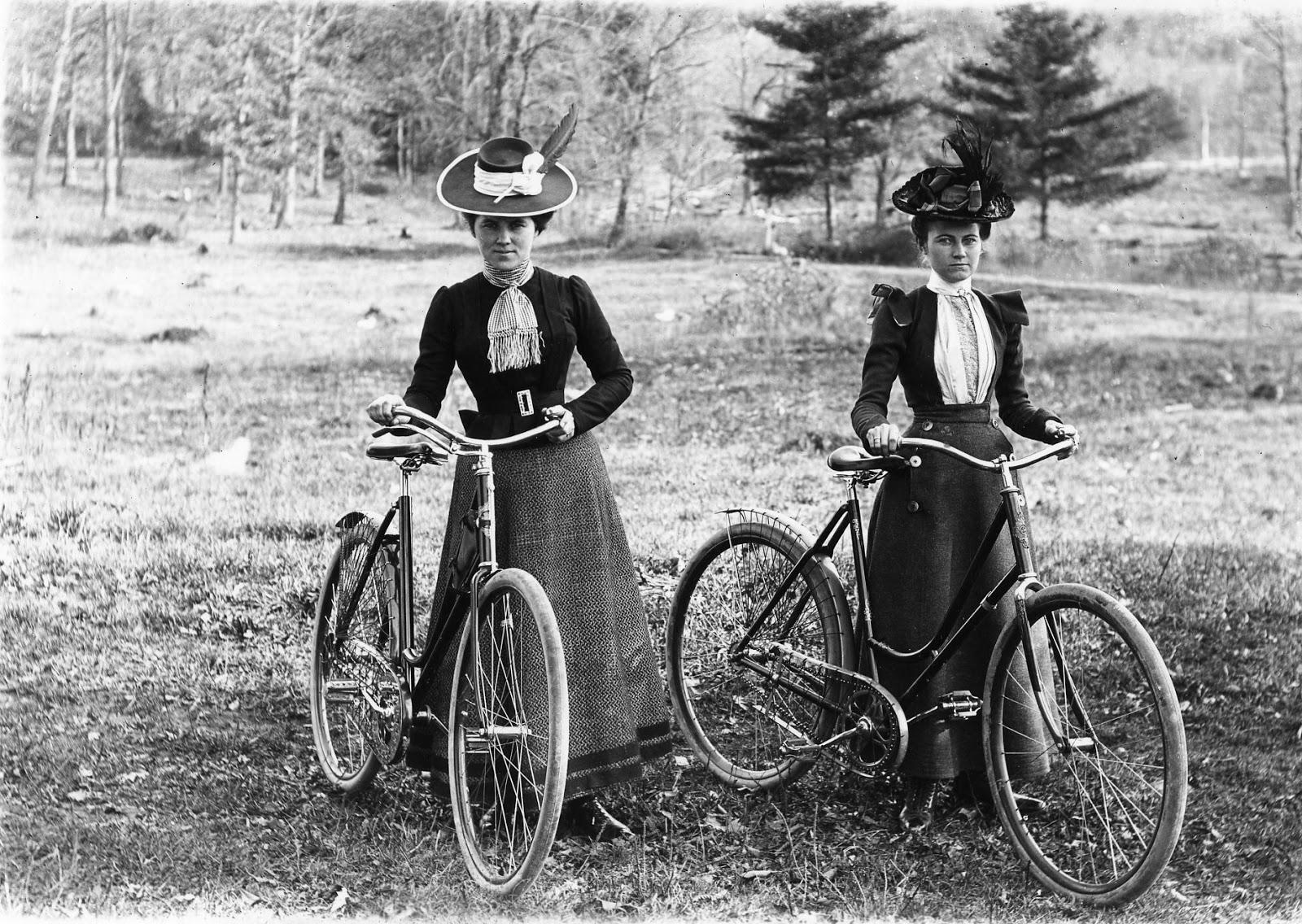 A importância da mulher na história da bicicleta