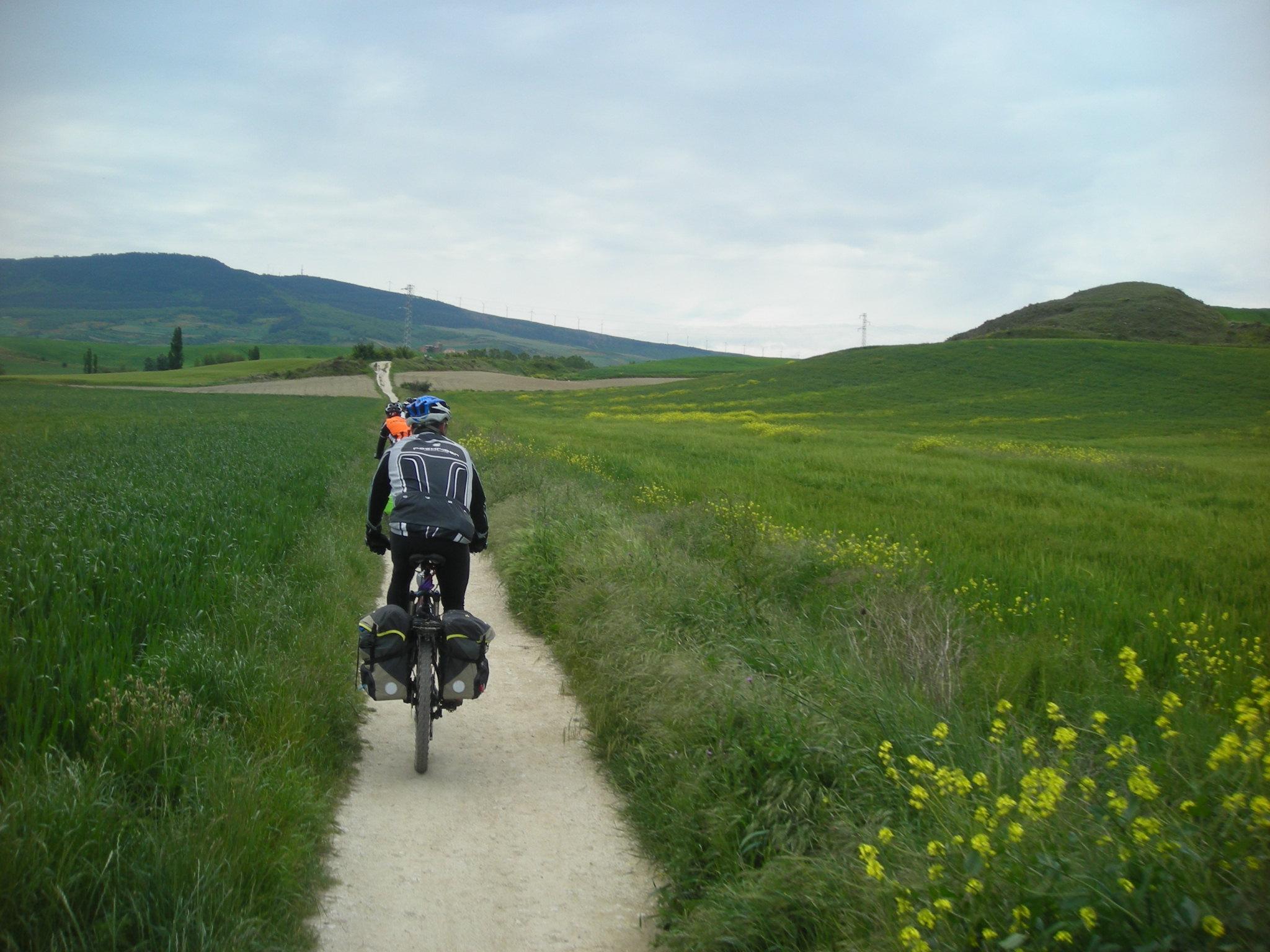 Caminho de Santiago de bicicleta