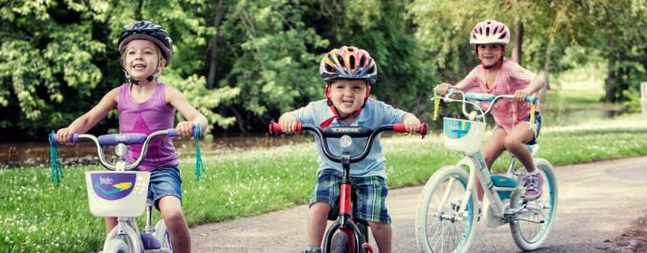 Aprender a andar de bicicleta: 3 dicas para crianças