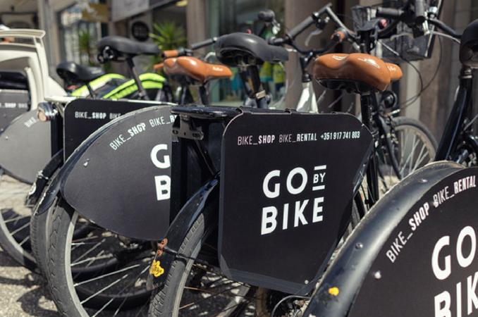 Alugar uma bicicleta na Go by Bike
